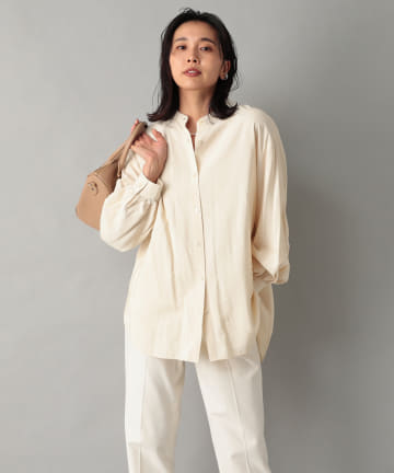 RIVE DROITE(リヴドロワ) 【女性らしさが際立つ】ボリュームスリーブシャツ