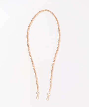 natural couture(ナチュラルクチュール) Birth stone 選べるショルダーチェーン