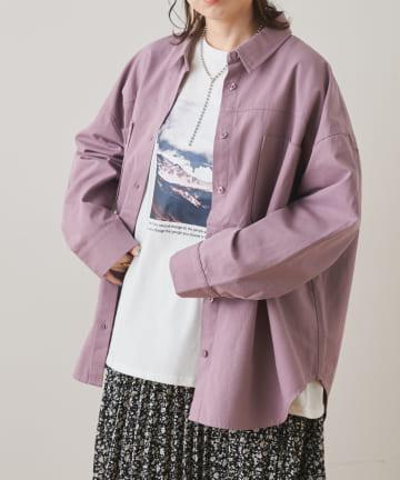 NICE CLAUP OUTLET(ナイスクラップ アウトレット) BIOWASH CPOシャツ