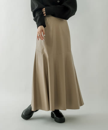 mystic(ミスティック) フェイクレザーマーメイドスカート