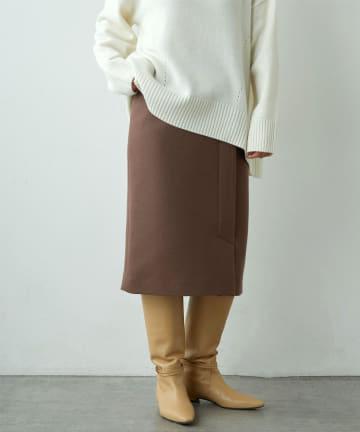 LIVETART(リヴェタート) メルトンスムースタイトスカート