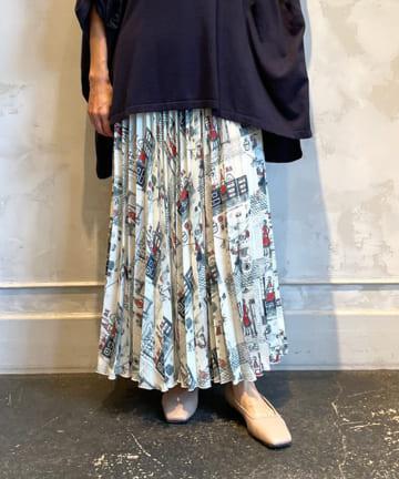 BEARDSLEY(ビアズリー) Houseworkプリーツスカート