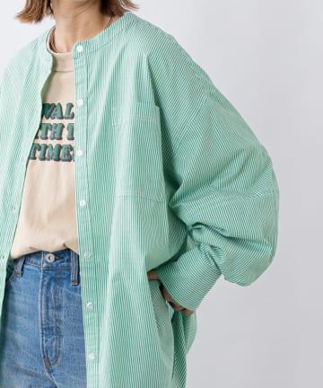 CIAOPANIC TYPY(チャオパニックティピー) カラーストライプシャツ