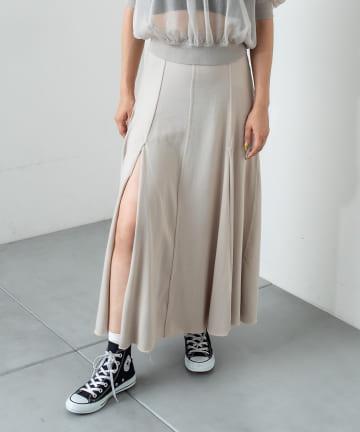 OUTLET(アウトレット) 【RASVOA】ハイスリットスカート