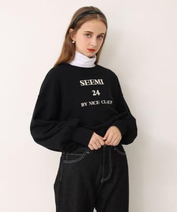 Seemi.by NICE CLAUP(シーミーバイナイスクラップ) Seemi.スウェット