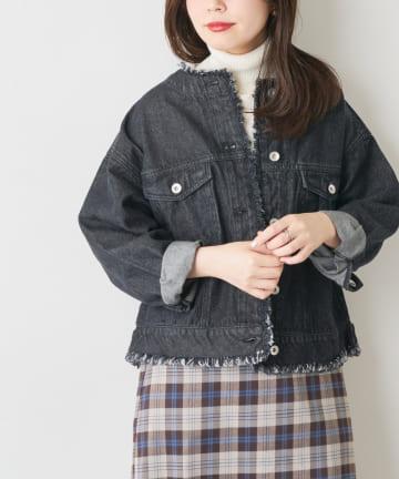 natural couture(ナチュラルクチュール) フリンジGジャン