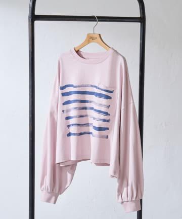 Discoat(ディスコート) LEE IZUMIDA × DISCOAT コラボロングTシャツ