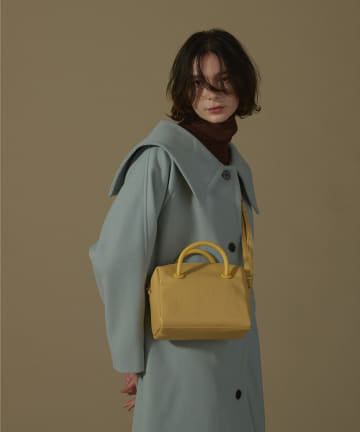 natural couture(ナチュラルクチュール) くるみハトメミニボストンバッグ