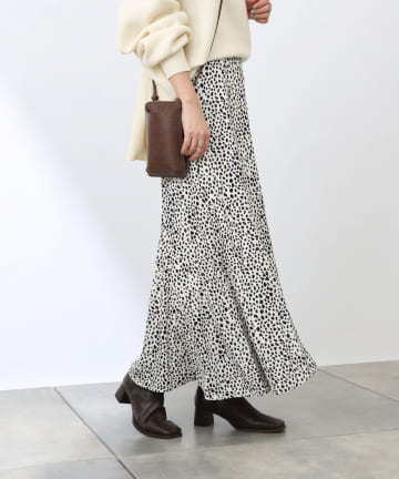 COLONY 2139(コロニー トゥーワンスリーナイン) レオパード柄マーメイドスカート