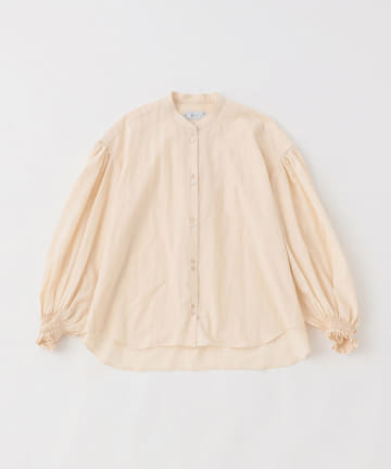 BLOOM&BRANCH(ブルームアンドブランチ) KIJI / COTTONNEP EMBROIDERY BLOUSE