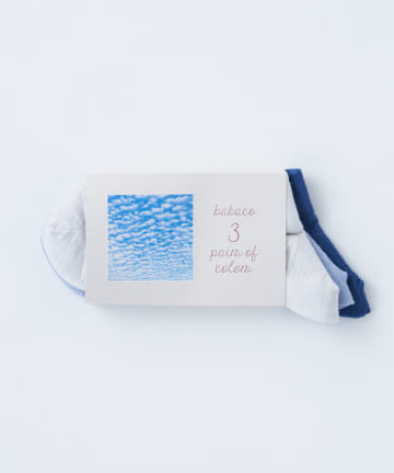 BLOOM&BRANCH(ブルームアンドブランチ) babaco / 3pairs of colors