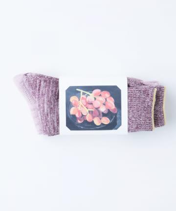 BLOOM&BRANCH(ブルームアンドブランチ) babaco / Botanical Dyed OC Socks