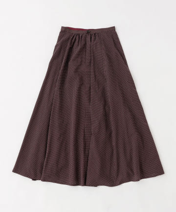 BLOOM&BRANCH(ブルームアンドブランチ) Phlannèl / Cotton Silk Komon Maxi Skirt