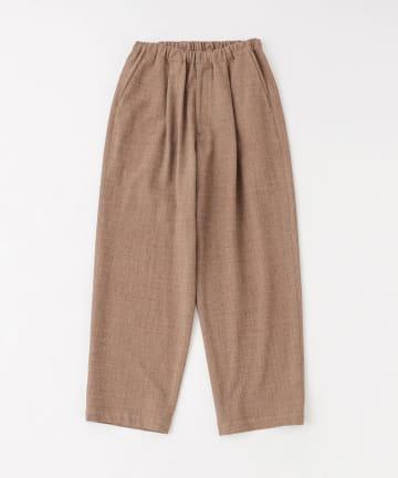 BLOOM&BRANCH(ブルームアンドブランチ) Phlannèl / Loop Yarn Wide Easy Trouser