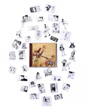 3COINS(スリーコインズ) 【天使なんかじゃない】ステッカーセット
