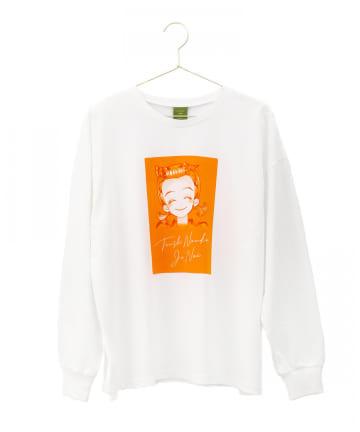 3COINS(スリーコインズ) 【天使なんかじゃない】ロングTシャツ