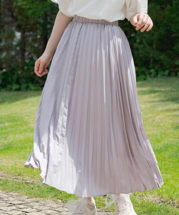 OLIVE des OLIVE(オリーブ デ オリーブ) アコーディオンプリーツスカート
