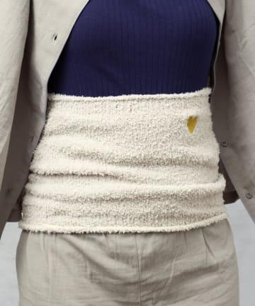 3COINS(スリーコインズ) 【やさしくて心地いい】刺繍マシュマロ腹巻き