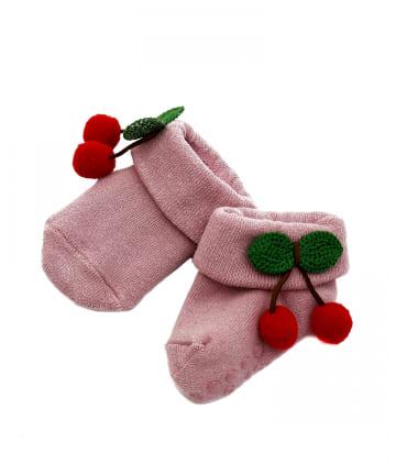 3COINS(スリーコインズ) 【BABY】靴下:さくらんぼ