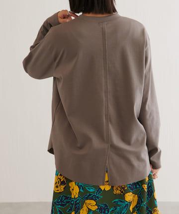 BONbazaar(ボンバザール) 切替長袖カットソー
