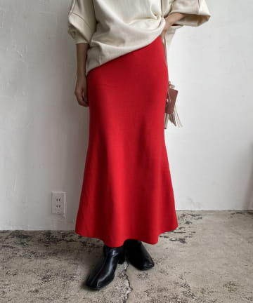 CAPRICIEUX LE'MAGE(カプリシュレマージュ) 〈抗菌消臭〉ニットスカート