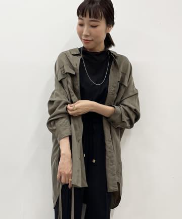 Loungedress(ラウンジドレス) フィブリルシャツ