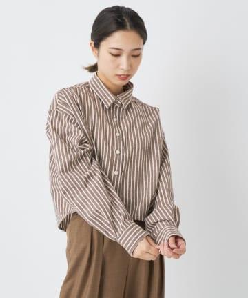 CIAOPANIC(チャオパニック) ショート丈チェックシャツ/一部店舗・WEB限定