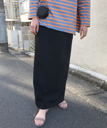 SHENERY(シーナリー) ポンチタイトマキシスカート