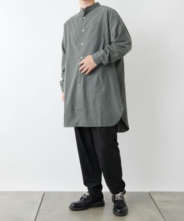 COLONY 2139(コロニー トゥーワンスリーナイン) バンドカラーロングシャツ※ユニセックス対応