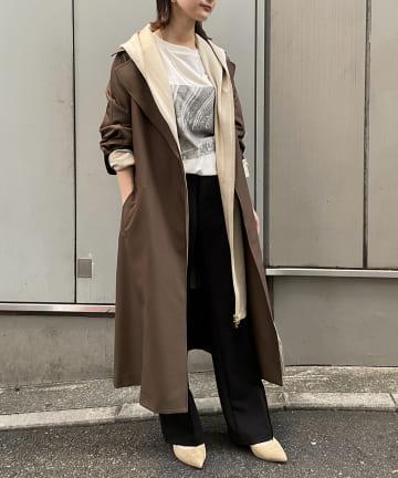 Loungedress(ラウンジドレス) 【odore/オドル】ドッキングコート