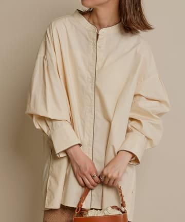 mystic(ミスティック) [mline] WEB限定 配色パイピングシャツ