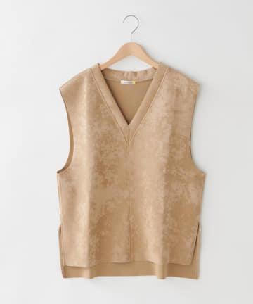 OLIVE des OLIVE OUTLET(オリーブ・デ・オリーブ アウトレット) 【dsf】V-neck Big Vest