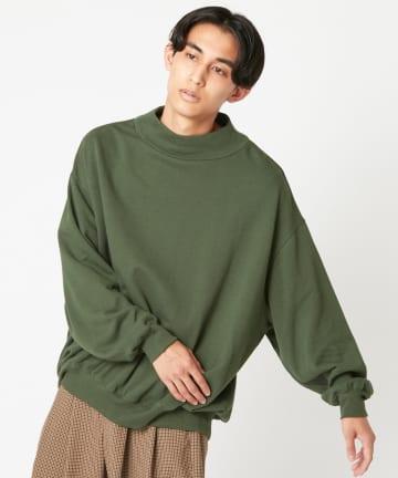 CIAOPANIC(チャオパニック) モックネックスウェット/WEB・一部店舗限定