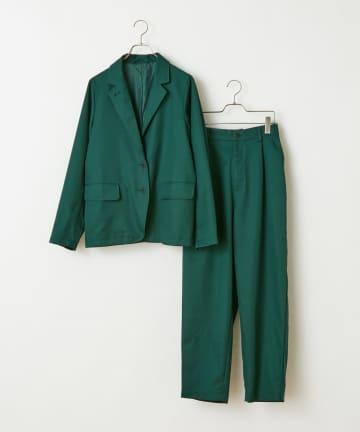 CIAOPANIC(チャオパニック) テーラードジャケット+スラックスパンツ/セットアップ/WEB・一部店舗限定