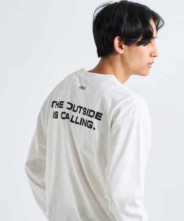 CIAOPANIC(チャオパニック) 【Coleman×CIAOPANIC】BOX MAN アートプリントロンTシャツ