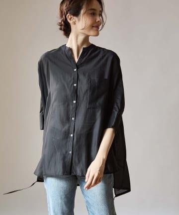 OUVRAGE CLASSE(ウヴラージュクラス) オーバーサイズシアーシャツ