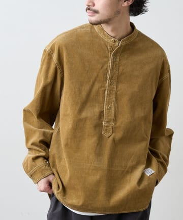 CIAOPANIC TYPY(チャオパニックティピー) ヴィンテージライクコーデュロイプルオーバーシャツ