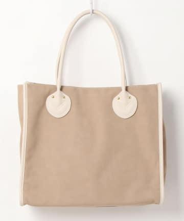 natural couture(ナチュラルクチュール) 丸手根革スクエアトート