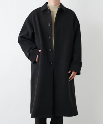 COLONY 2139(コロニー トゥーワンスリーナイン) テックウール オーバーサイズ ステンカラーコート
