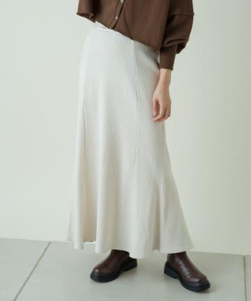 Kastane(カスタネ) 【SETUP対応】変形テレコマーメイドスカート