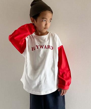 CIAOPANIC TYPY(チャオパニックティピー) 【KIDS】ベースボール切り替えTee