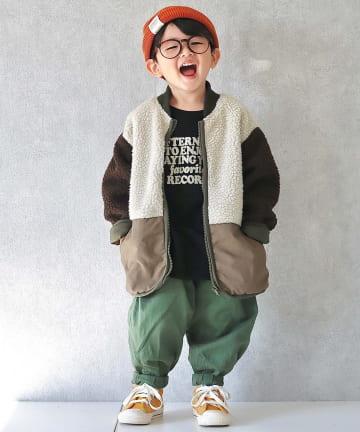 CIAOPANIC TYPY(チャオパニックティピー) 【KIDS】ミリタリーボアMA1