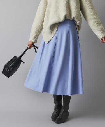 RIVE DROITE(リヴドロワ) 【主役級Aラインスカート】圧縮ウールスカート