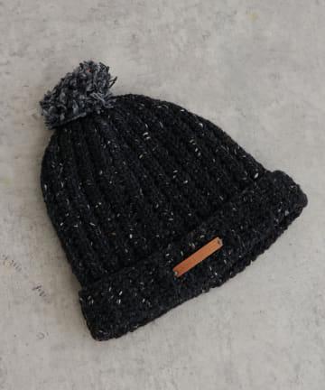 BONbazaar(ボンバザール) 【MASTER&Co.】ニット帽 CROCHET HAT