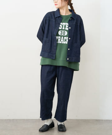 pual ce cin(ピュアルセシン) 【Du noir】JAPAN MADEデニムジャケット