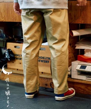 CIAOPANIC(チャオパニック) 【僕らが纏うモノ】at SAKULA - WIDE CHINO PANTS