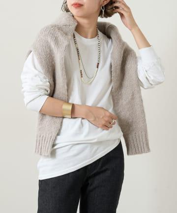 Omekashi(オメカシ) ギルダンロングTシャツ