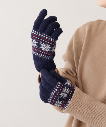 Daily russet(デイリー ラシット) 【iTouch Gloves】アイタッチグローブ パターン