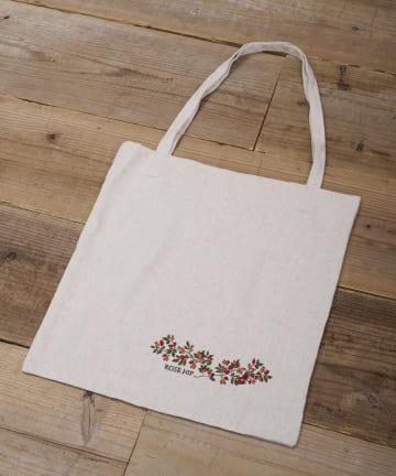 salut!(サリュ) 【野草の会】刺繍トートバッグ