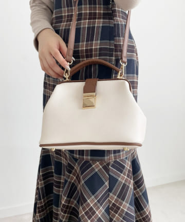 one after another NICE CLAUP(ワンアフターアナザー ナイスクラップ) 配色littleBag
